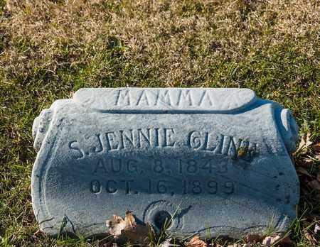 CLINE, S JENNIE - Richland County, Ohio | S JENNIE CLINE - Ohio Gravestone Photos