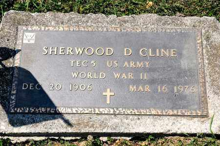 CLINE, SHERWOOD D - Richland County, Ohio | SHERWOOD D CLINE - Ohio Gravestone Photos
