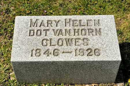 "VANHORN CLOWES, MARY HELEN ""DOT"" - Richland County, Ohio | MARY HELEN ""DOT"" VANHORN CLOWES - Ohio Gravestone Photos"