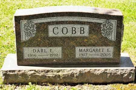 COBB, MARGARET E - Richland County, Ohio | MARGARET E COBB - Ohio Gravestone Photos
