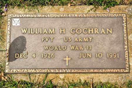 COCHRAN, WILLIAM H - Richland County, Ohio | WILLIAM H COCHRAN - Ohio Gravestone Photos