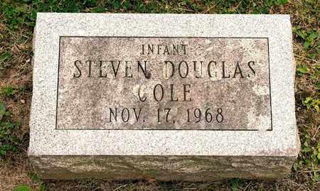 COLE, STEVEN DOUGLAS - Richland County, Ohio | STEVEN DOUGLAS COLE - Ohio Gravestone Photos