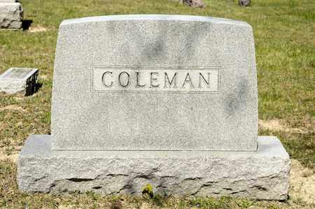 COLEMAN, VELMA - Richland County, Ohio | VELMA COLEMAN - Ohio Gravestone Photos