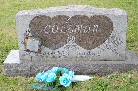 COLEMAN JR, JAMES E - Richland County, Ohio   JAMES E COLEMAN JR - Ohio Gravestone Photos