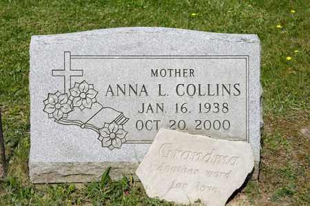 COLLINS, ANNA L - Richland County, Ohio   ANNA L COLLINS - Ohio Gravestone Photos