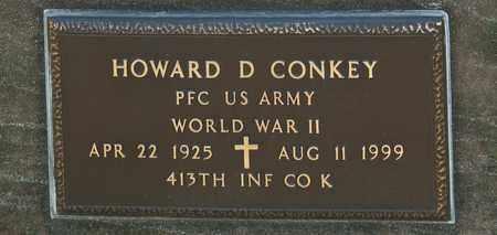 CONKEY, HOWARD D - Richland County, Ohio | HOWARD D CONKEY - Ohio Gravestone Photos