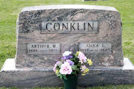 CONKLIN, ANNA L - Richland County, Ohio   ANNA L CONKLIN - Ohio Gravestone Photos
