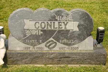 CONLEY, JANET E - Richland County, Ohio   JANET E CONLEY - Ohio Gravestone Photos