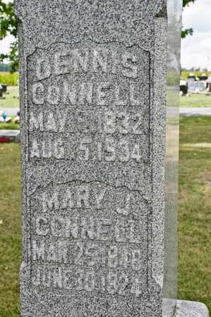 CONNELL, MARY J - Richland County, Ohio | MARY J CONNELL - Ohio Gravestone Photos