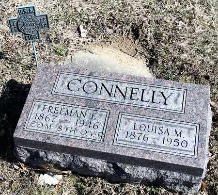 CONNELLY, LOUISA M - Richland County, Ohio | LOUISA M CONNELLY - Ohio Gravestone Photos