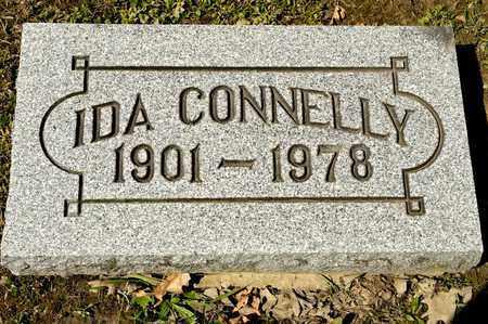 CONNELLY, IDA - Richland County, Ohio | IDA CONNELLY - Ohio Gravestone Photos