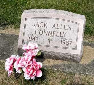 CONNELLY, JACK ALLEN - Richland County, Ohio | JACK ALLEN CONNELLY - Ohio Gravestone Photos