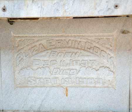 COOK, ELIZA - Richland County, Ohio | ELIZA COOK - Ohio Gravestone Photos