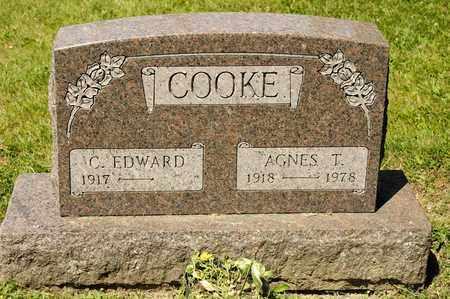 COOKE, AGNES T - Richland County, Ohio   AGNES T COOKE - Ohio Gravestone Photos