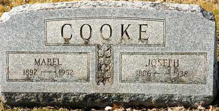 COOKE, MABEL - Richland County, Ohio | MABEL COOKE - Ohio Gravestone Photos