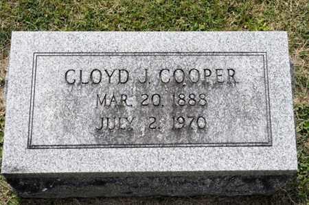 COOPER, CLOYD J - Richland County, Ohio | CLOYD J COOPER - Ohio Gravestone Photos