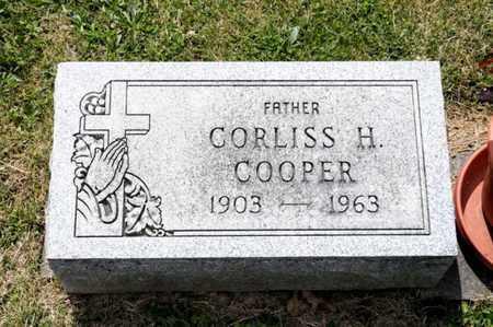COOPER, CORLISS H - Richland County, Ohio   CORLISS H COOPER - Ohio Gravestone Photos