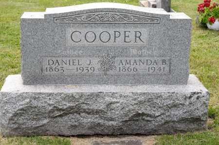 COOPER, DANIEL J - Richland County, Ohio   DANIEL J COOPER - Ohio Gravestone Photos