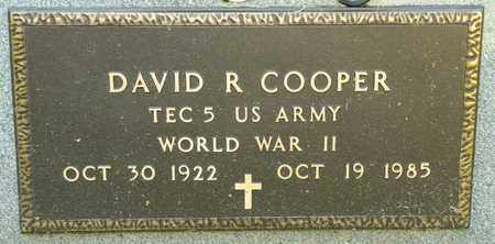 COOPER, DAVID R - Richland County, Ohio | DAVID R COOPER - Ohio Gravestone Photos