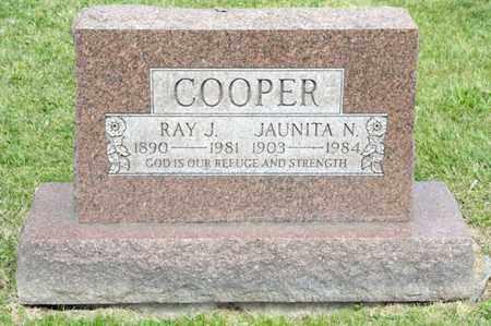 COOPER, RAY J - Richland County, Ohio | RAY J COOPER - Ohio Gravestone Photos
