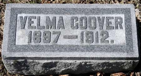 COOVER, VELMA - Richland County, Ohio | VELMA COOVER - Ohio Gravestone Photos