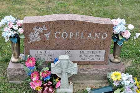 COPELAND, EARL F - Richland County, Ohio | EARL F COPELAND - Ohio Gravestone Photos