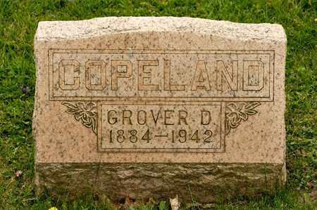 COPELAND, GROVER D - Richland County, Ohio | GROVER D COPELAND - Ohio Gravestone Photos