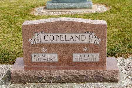 COPELAND, RUSSELL E - Richland County, Ohio | RUSSELL E COPELAND - Ohio Gravestone Photos