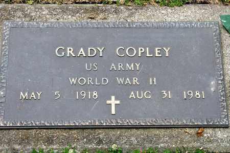 COPLEY, GRADY - Richland County, Ohio   GRADY COPLEY - Ohio Gravestone Photos