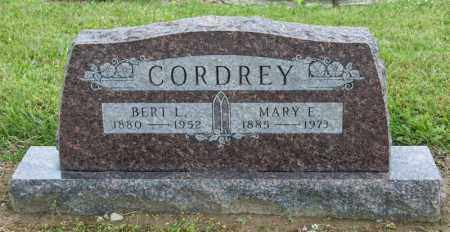 CORDREY, MARY E - Richland County, Ohio | MARY E CORDREY - Ohio Gravestone Photos
