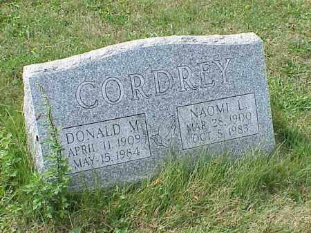 CORDREY, DONALD M. - Richland County, Ohio | DONALD M. CORDREY - Ohio Gravestone Photos