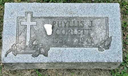 CORLETT, PHYLLIS J - Richland County, Ohio   PHYLLIS J CORLETT - Ohio Gravestone Photos