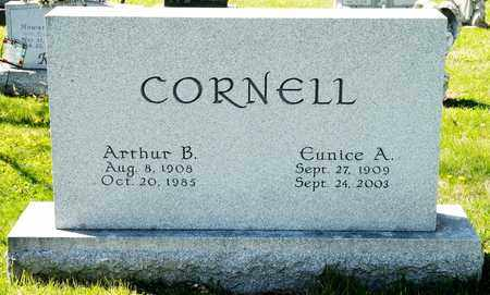 CORNELL, ARTHUR B - Richland County, Ohio | ARTHUR B CORNELL - Ohio Gravestone Photos