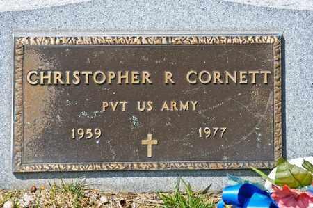 CORNETT, CHRISTOPHER R - Richland County, Ohio   CHRISTOPHER R CORNETT - Ohio Gravestone Photos