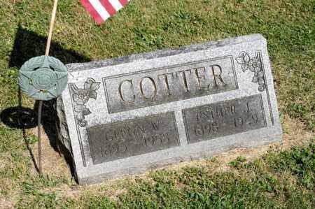 COTTER, ESTHER J - Richland County, Ohio | ESTHER J COTTER - Ohio Gravestone Photos