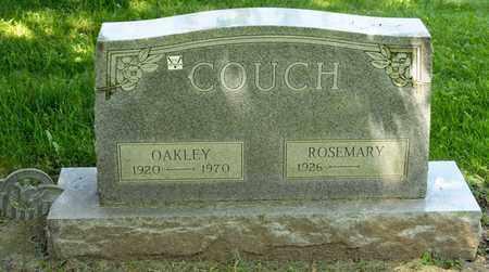 COUCH, OAKLEY - Richland County, Ohio   OAKLEY COUCH - Ohio Gravestone Photos