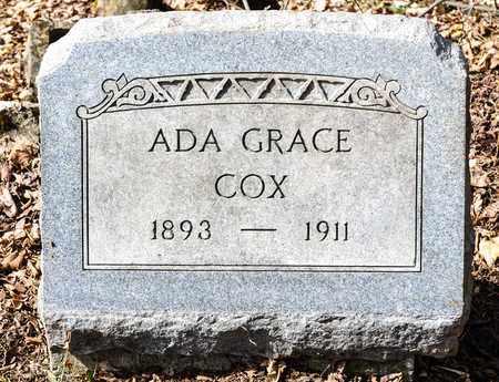 COX, ADA GRACE - Richland County, Ohio | ADA GRACE COX - Ohio Gravestone Photos