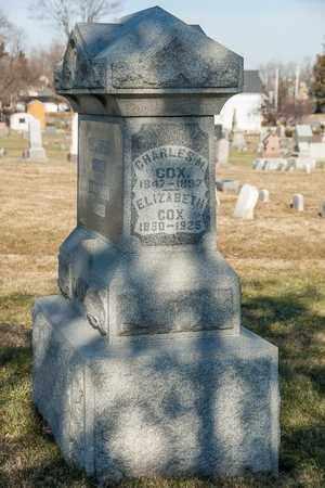 COX, ELIZABETH - Richland County, Ohio | ELIZABETH COX - Ohio Gravestone Photos