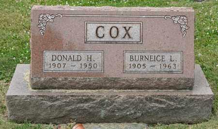 COX, BURNEICE L - Richland County, Ohio | BURNEICE L COX - Ohio Gravestone Photos