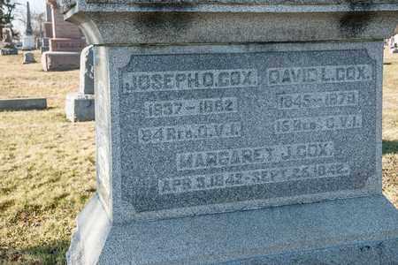 COX, MARGARET J - Richland County, Ohio | MARGARET J COX - Ohio Gravestone Photos