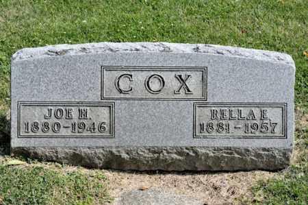 COX, RELLA E - Richland County, Ohio | RELLA E COX - Ohio Gravestone Photos