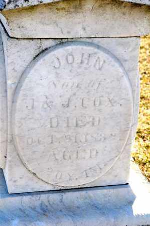 COX, JOHN - Richland County, Ohio | JOHN COX - Ohio Gravestone Photos