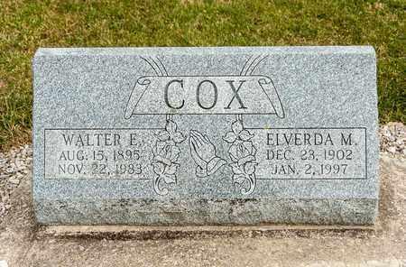 COX, ELVERDA M - Richland County, Ohio | ELVERDA M COX - Ohio Gravestone Photos