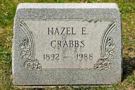 CRABBS, HAZEL E - Richland County, Ohio | HAZEL E CRABBS - Ohio Gravestone Photos