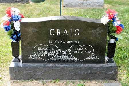CRAIG, ELWOOD F - Richland County, Ohio | ELWOOD F CRAIG - Ohio Gravestone Photos