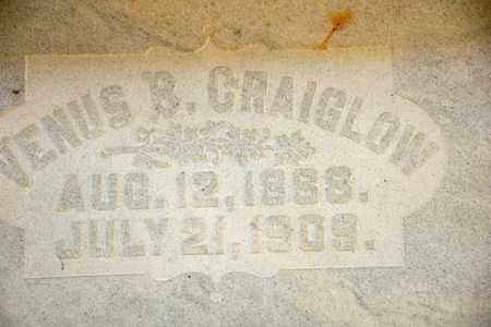 CRAIGLOW, VENUS B - Richland County, Ohio | VENUS B CRAIGLOW - Ohio Gravestone Photos