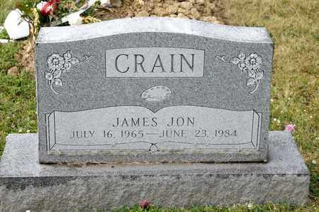 CRAIN, JAMES JON - Richland County, Ohio | JAMES JON CRAIN - Ohio Gravestone Photos