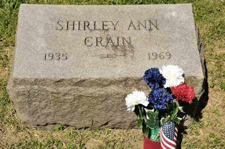 CRAIN, SHIRLEY ANN - Richland County, Ohio | SHIRLEY ANN CRAIN - Ohio Gravestone Photos
