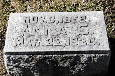 CRALL, ANNA ELIZABETH - Richland County, Ohio | ANNA ELIZABETH CRALL - Ohio Gravestone Photos