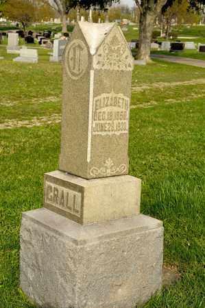 CRALL, AMOS - Richland County, Ohio   AMOS CRALL - Ohio Gravestone Photos
